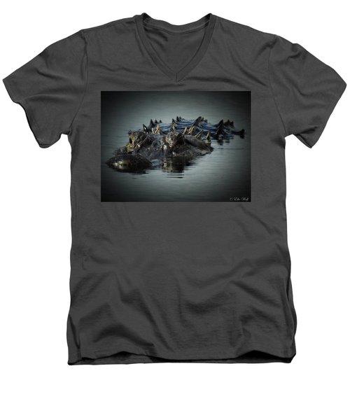 I Am Gator, No. 45 Men's V-Neck T-Shirt