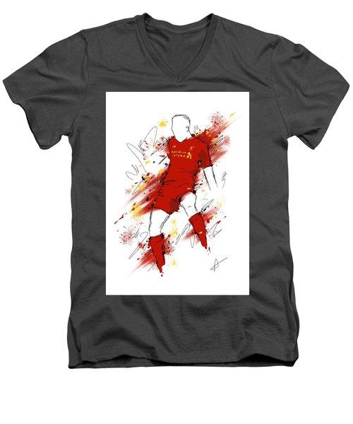 I Am Red #2 Men's V-Neck T-Shirt