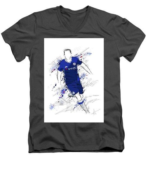 I Am Royal Blue Men's V-Neck T-Shirt