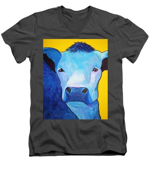 I Am So Blue Men's V-Neck T-Shirt