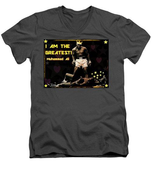 I Am The Greatest Men's V-Neck T-Shirt