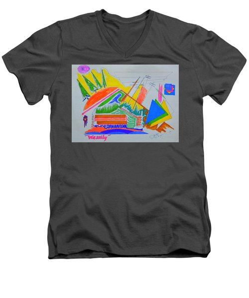 I Dig Vassily Men's V-Neck T-Shirt