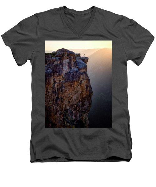 I Do Men's V-Neck T-Shirt by Nicki Frates