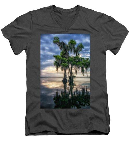 I Dreamed Of Cypress Men's V-Neck T-Shirt