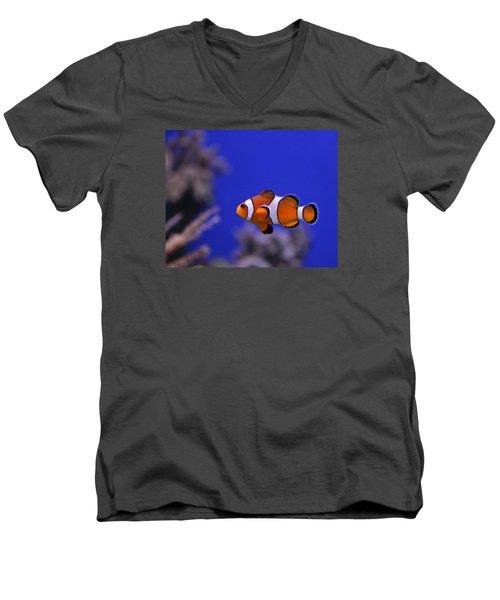 I Found Him Men's V-Neck T-Shirt by George Jones
