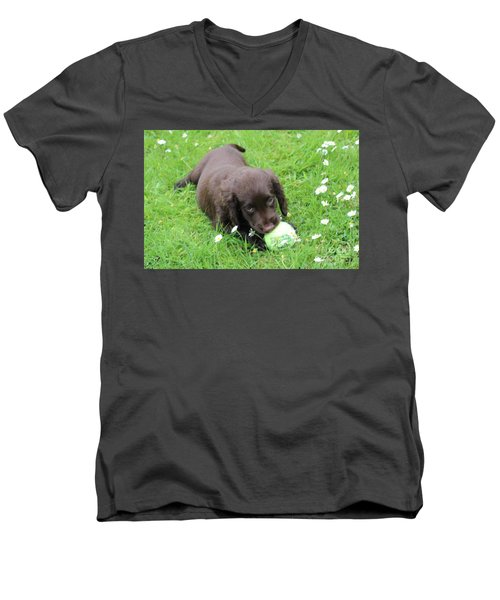 Men's V-Neck T-Shirt featuring the photograph Got You by Katy Mei