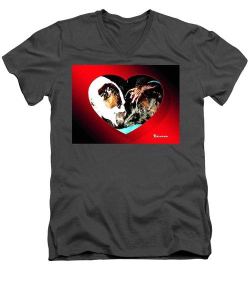 I Got You Babe Men's V-Neck T-Shirt