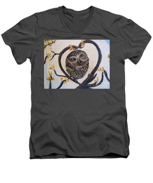 I Heart You Men's V-Neck T-Shirt