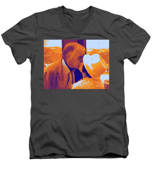 I Knew Two  Men's V-Neck T-Shirt by Jesse Ciazza