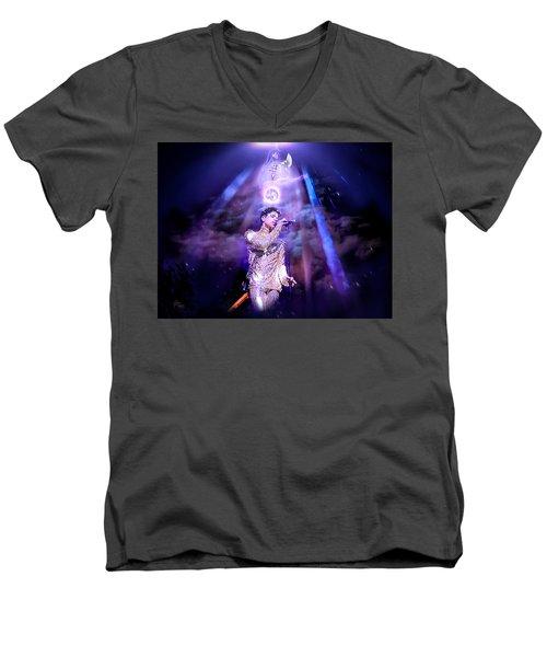 I Love You - Prince Men's V-Neck T-Shirt