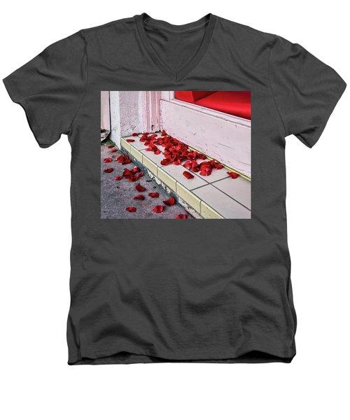 I Poured Out My Heart Men's V-Neck T-Shirt