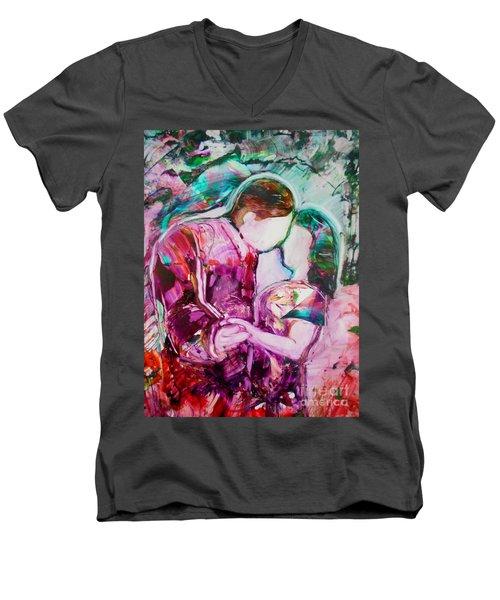 I Remember The First Dance Men's V-Neck T-Shirt