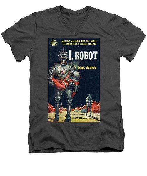I, Robot Men's V-Neck T-Shirt