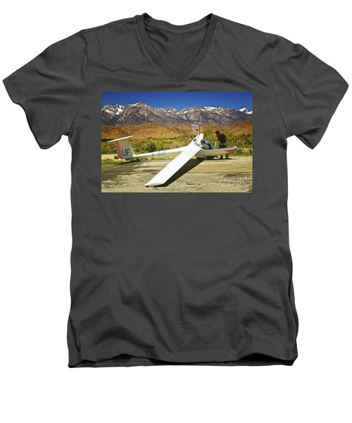 I See The Parachute Where's The Engine Men's V-Neck T-Shirt