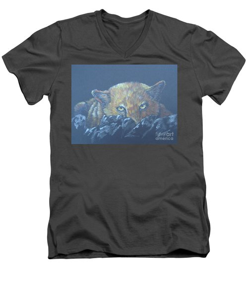 I See You Men's V-Neck T-Shirt by Laurianna Taylor