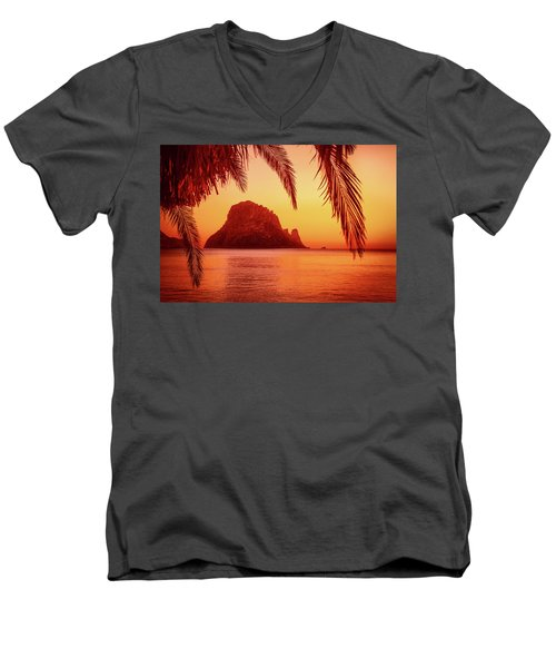 Ibiza Sunset Men's V-Neck T-Shirt