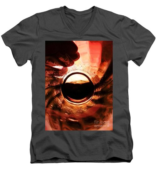 Men's V-Neck T-Shirt featuring the photograph Icarus by Steed Edwards