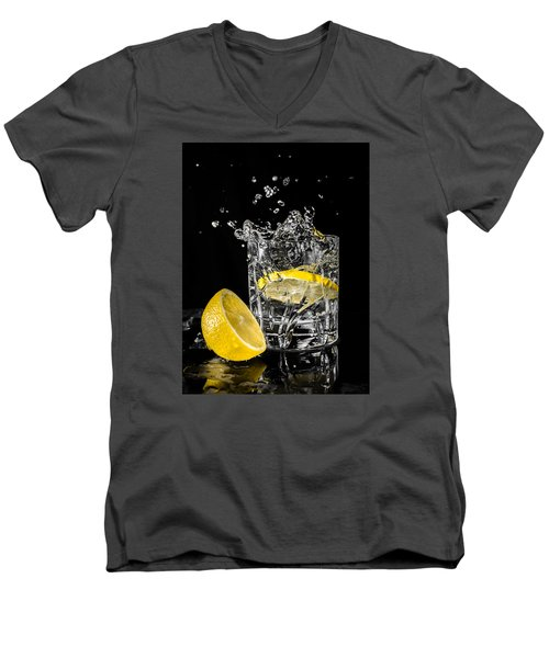 Ice And A Slice Men's V-Neck T-Shirt