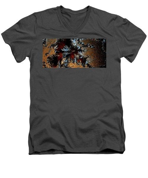 Ice Cold Gold Men's V-Neck T-Shirt