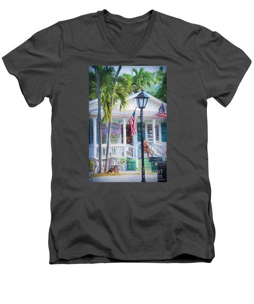 Ice Cream In Key West Men's V-Neck T-Shirt