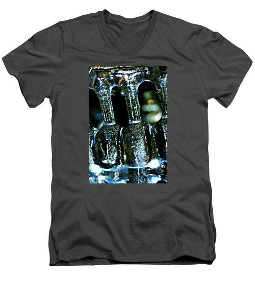 Ice Formation 02 Men's V-Neck T-Shirt