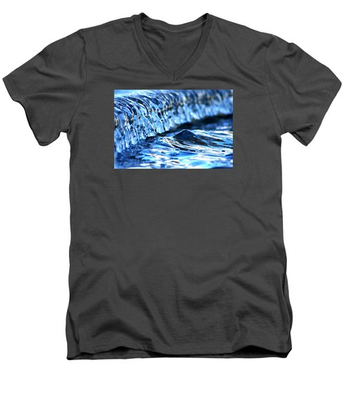 Ice Formation 08 Men's V-Neck T-Shirt