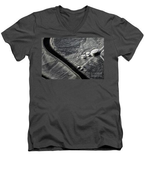 Ice Patterns I Men's V-Neck T-Shirt