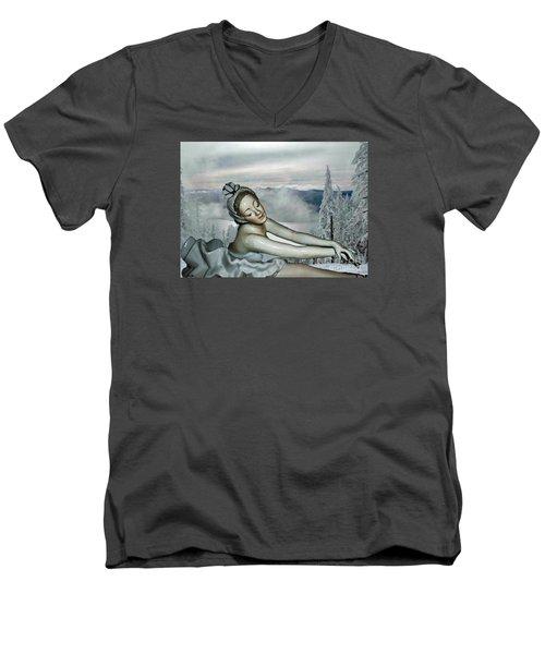 Ice Princess Men's V-Neck T-Shirt
