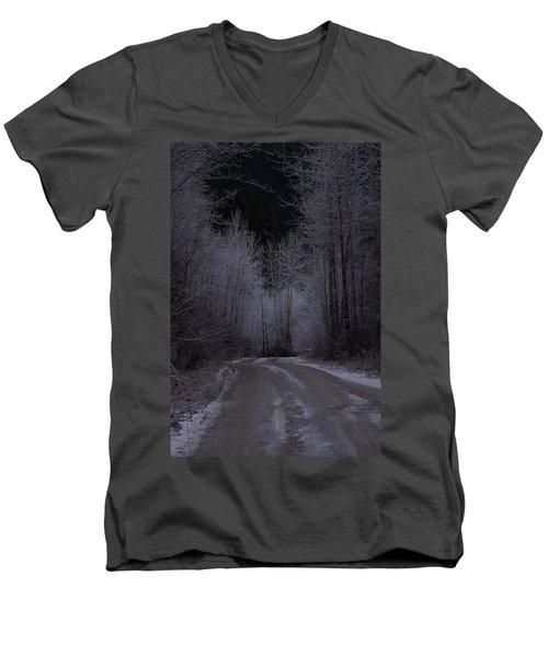 Ice Road Men's V-Neck T-Shirt