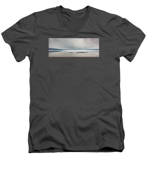 Ice Sheet Men's V-Neck T-Shirt