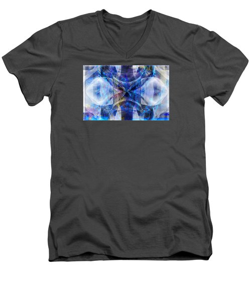 Ice Structure Men's V-Neck T-Shirt