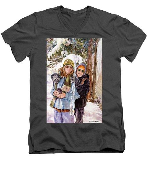 Icicle Men's V-Neck T-Shirt