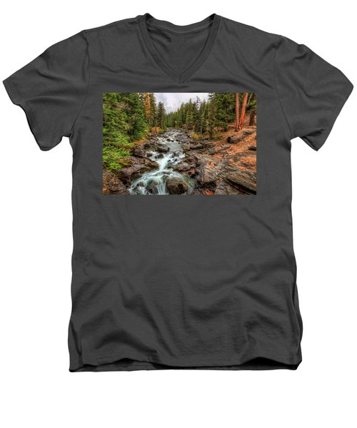 Icicle Gorge 2 Men's V-Neck T-Shirt