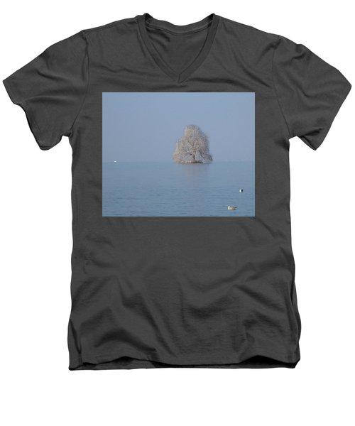 Icy Isolation Men's V-Neck T-Shirt