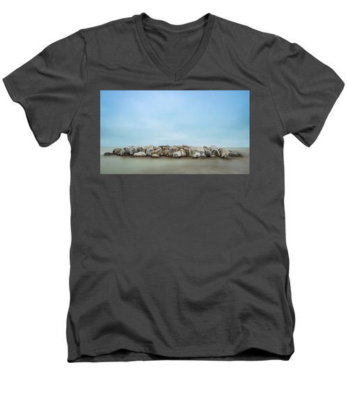 Icy Morning Men's V-Neck T-Shirt