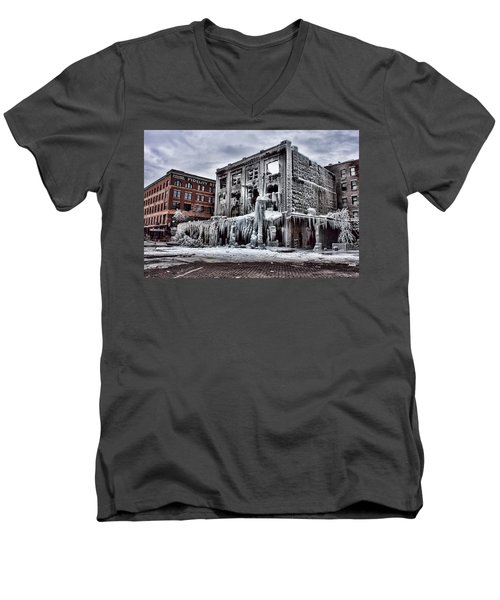Icy Remains - After The Fire Men's V-Neck T-Shirt