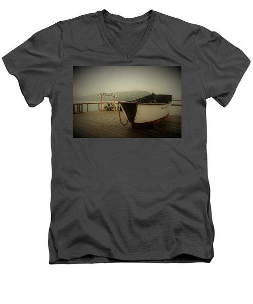 Icy Strait Point Boat Men's V-Neck T-Shirt