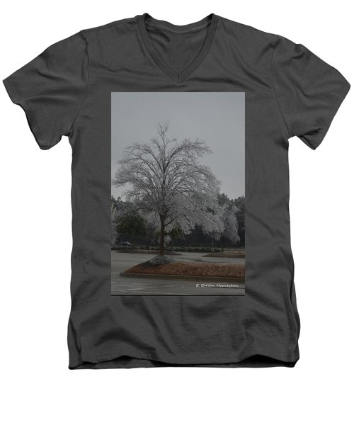 Icy Tree Men's V-Neck T-Shirt