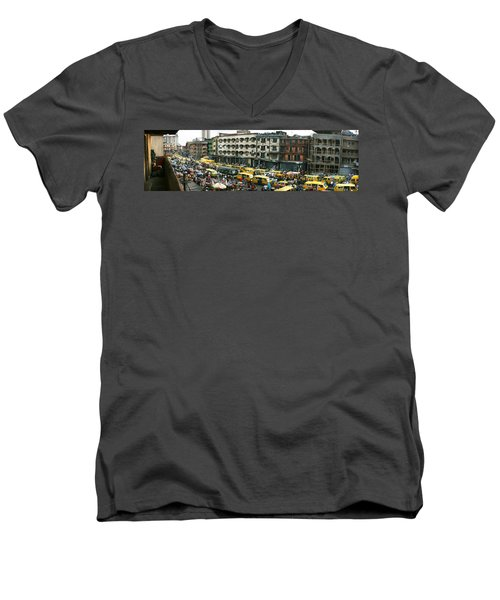 Idumota, Lagos Men's V-Neck T-Shirt