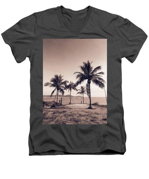 Idyllic Beach Men's V-Neck T-Shirt