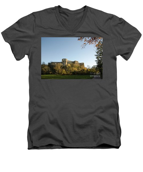 Men's V-Neck T-Shirt featuring the photograph If I Could Speak......... by Kennerth and Birgitta Kullman