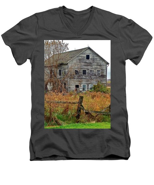 If It Could Talk Men's V-Neck T-Shirt