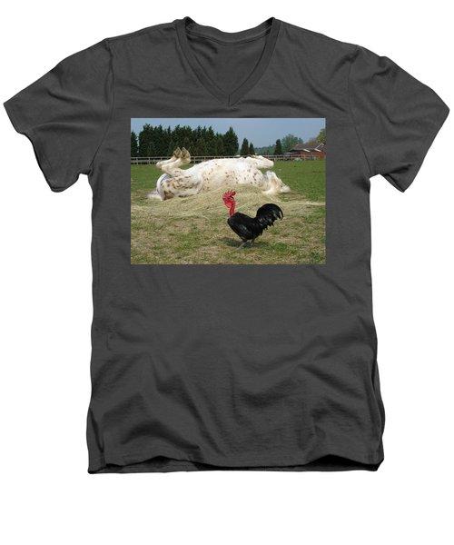 If Looks Could Kill Men's V-Neck T-Shirt