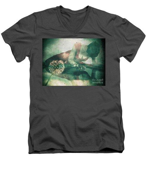 If Only I Wish Men's V-Neck T-Shirt