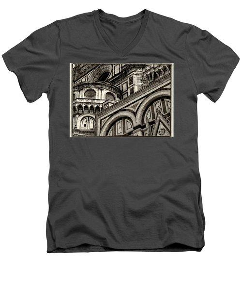 Il Duomo Di Firenze Men's V-Neck T-Shirt