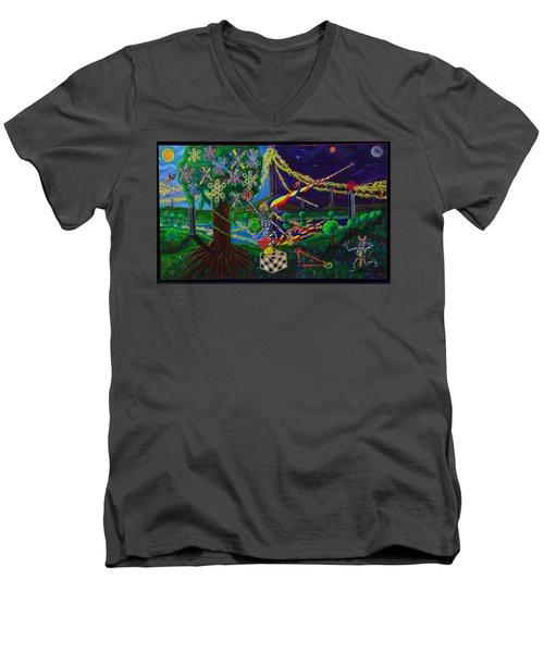 Il Paradiso Il Modello Della Genesi Men's V-Neck T-Shirt