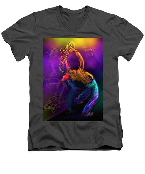 I'll Bend Over Backwards For Your Love Men's V-Neck T-Shirt