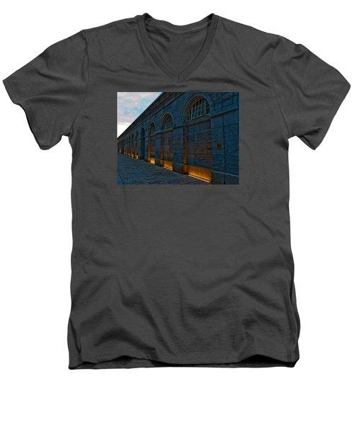 Illuminated Arches Men's V-Neck T-Shirt by Helen Northcott