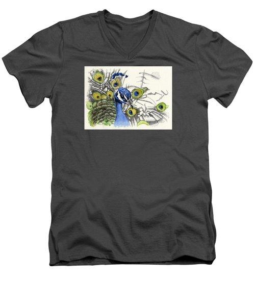 Illuminated Glory Men's V-Neck T-Shirt