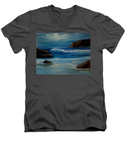 Illuminated Men's V-Neck T-Shirt